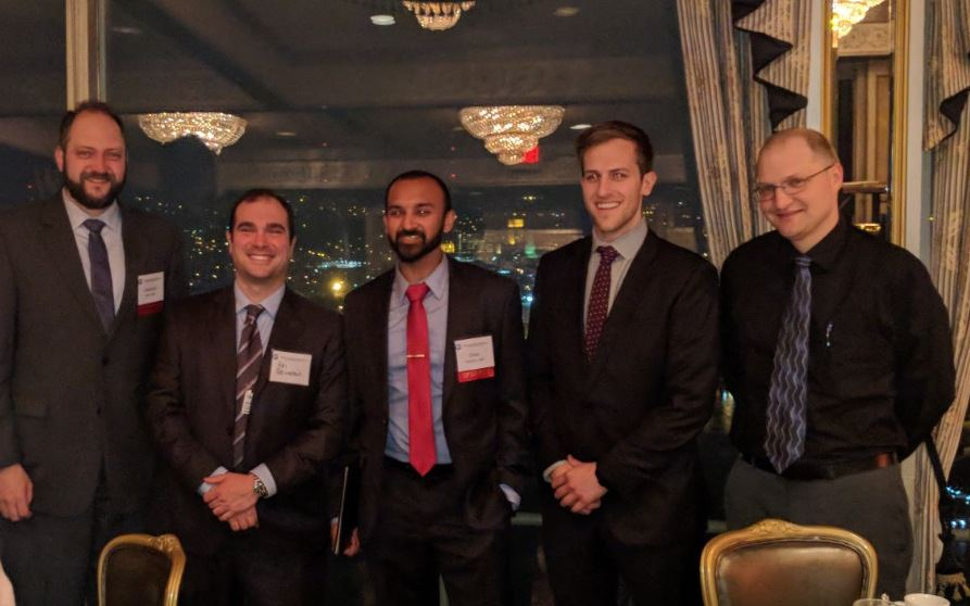 Jonathan Levy, MD, Ari Reichstein, MD, Omar Hashmi, MD, Peter Allen, MD, and Stanislav Nosik, MD