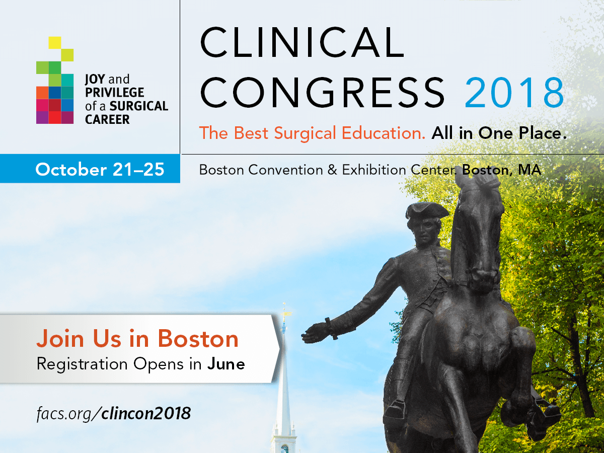 2018 Clinical Congress
